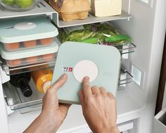 Dial™ Baby by Joseph Joseph. Storage containers for keeping babyfood fresh. The unique date dial means you'll never forget when you put the food in the freezer.