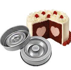 Forma que você poderá encher com seu recheio preferido, como sorvete, frutas, mousse e muito mais. Produzida com material ante-aderente. Cada forma medindo aproximadamente 22cm .