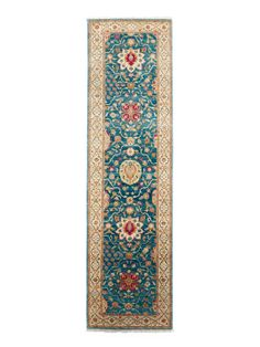 "Zoey Hand-Knotted Rug (2'8""x9'11"") by FJ Kashanian at Gilt"