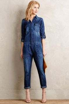 e390baa08aa6 Citizens of Humanity Tallulah Jumpsuit - anthropologie.com  anthrofave Jean  Overalls, Denim Jumpsuit