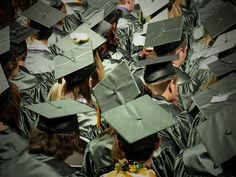 Lives just beginning at the 2012 Falcon High School Graduation in Meridian Ranch, Colorado Springs.