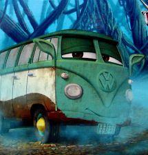 Disney Pixar Cars Fillmore as Yoda Star Wars Weekends 2013 Diecast Toy Vehicle