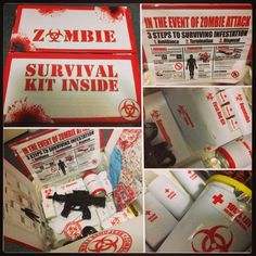 DIY Zombie Survival Kit