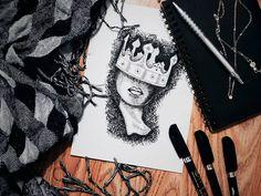 "Páči sa mi to: 266, komentáre: 6 – ✖️ SjusiArt ✖️ (@_sjusi_) na Instagrame: ""Finished #draw #drawing #artwork #paint #instaartist #art #artist #arte #creative #artsy…"""