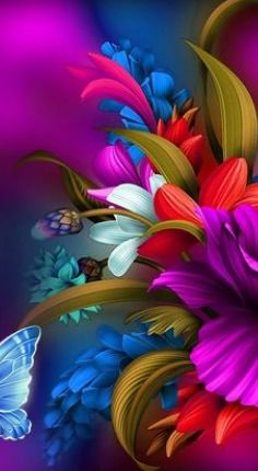 50 New ideas for flower art wallpaper backgrounds Beautiful Flowers Wallpapers, Beautiful Nature Wallpaper, Colorful Wallpaper, Purple Wallpaper, Flower Phone Wallpaper, Cellphone Wallpaper, Animal Wallpaper, Wallpaper Samsung, Flower Backgrounds