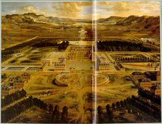 17th Century French Gardens.  Gardens of Versailles