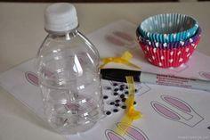 Lembrancinha de Páscoa feita de garrafa pet! Veja como fazer!