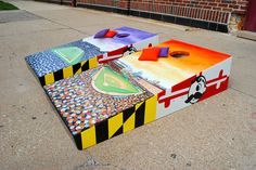 Ravens and Oriole stadium themed Natty Boh inspired Maryland flag cornhole set