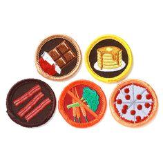 YES! | Foodie Badge Set