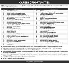 Public Sector Organization Online Jobs www.apso.rozee.pk