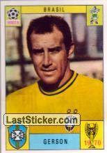 Sticker 178: Gerson - Panini FIFA World Cup Mexico 1970 - laststicker.com