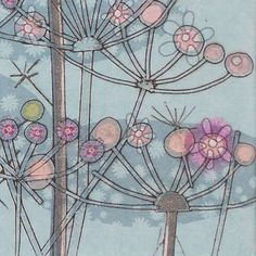 Dolly Bird Collagraph print love