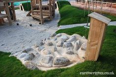 Playground Build & Design   Natural, Wood   EarthWrights