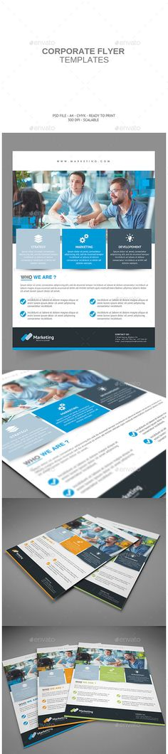 Corporate Flyer Template PSD | Buy and Download: http://graphicriver.net/item/corporate-flyer/8854528?WT.ac=category_thumb&WT.z_author=Subagja&ref=ksioks