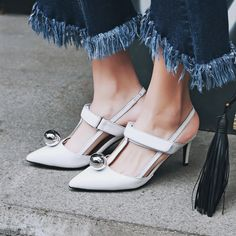 Summer white trend styling tips | How to wear | Chiko Shoes