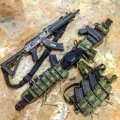 Bag full of guns Tactical Ak, Tactical Survival, Zombie Survival Gear, Tactical Equipment, Rifles, Battle Belt, Airsoft Gear, Molle Gear, Tac Gear