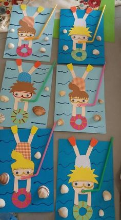 Divers Divers The post Divers appeared first on Knutselen ideeën. Divers Divers The post Divers appeared first on Knutselen ideeën. Kids Crafts, Daycare Crafts, Classroom Crafts, Summer Crafts, Toddler Crafts, Preschool Crafts, Diy And Crafts, Arts And Crafts, Decoration Creche