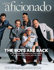 The Sopranos: Mob Rule | Celebrities | Cigar Aficionado