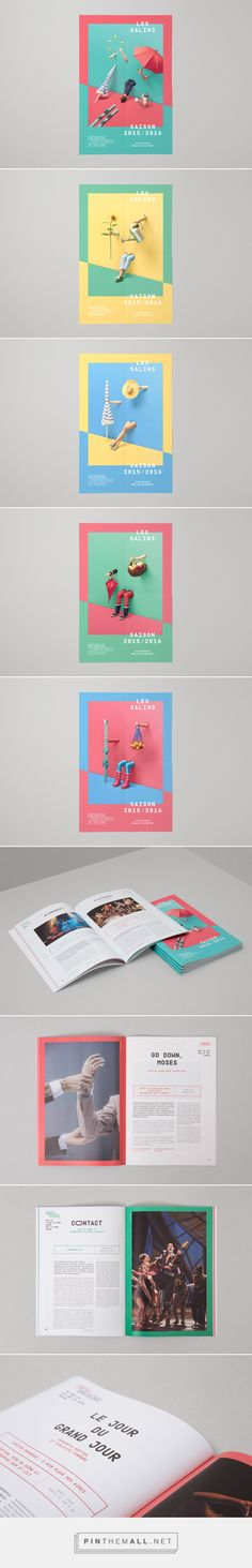 Les Salins 2015-2016 on Behance... - a grouped images picture - Pin Them All