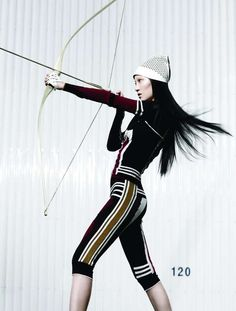 Theatrically Athletic Editorials - The Photoshoot by Moo King for Fashion Magazine Stars Ishie W (GALLERY)