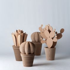 If you have a house plant graveyard, these cardboard plants may be perfect for your home decor. You can even paint them to match your color scheme. #imnotabox