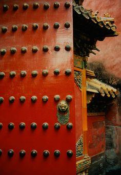 Forbidden City, inner court detail, Beijing, China