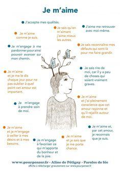 Je m'aime… affiche à télécharger sur pourpenser.fr – Le pari du bonheur - cathy mendes - #à #Affiche #bonheur #cathy #du #je #le #maime #Mendes #pari #pourpenserfr #sur #Télécharger