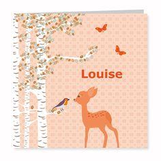 Geboortekaartje Louise