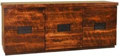 Amish Outlet Store : Arthur Philippe 6 Drawer Dresser in Ruffsawn