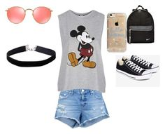 """""""Kyah anther day out"""" by makennaanderman on Polyvore featuring rag & bone/JEAN, Topshop, Converse, NIKE, Agent 18, Ray-Ban and Miss Selfridge"""