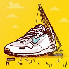Sneaky Sneakers on Behance