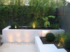 Courtyard Landscaping, Small Courtyard Gardens, Front Courtyard, Small Courtyards, Back Gardens, Modern Courtyard, Courtyard Ideas, Courtyard Design, Small Garden Design