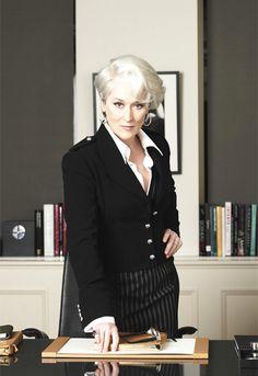 Meryl Streep AS Miranda Priestly (The devil wears Prada - David Frankel, 2006)