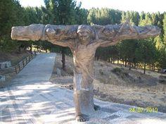Jesus Carries the Cross at Junín de los Andes, Neuquén Province, Argentina