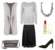 #Herbstoutfit Grey Motion ♥ #outfit #Damenoutfit #outfitdestages #dresslove