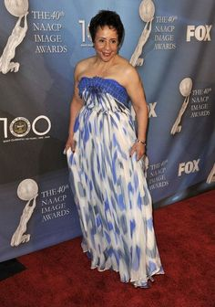 Sheila Johnson - Co Founder of BET    (who went on to say that she is ashamed of what it has become . . . AMEN!)