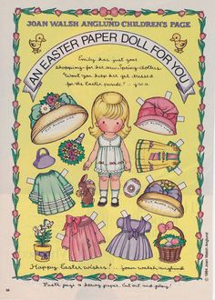 Garden Of Daisies: Paper Dolls