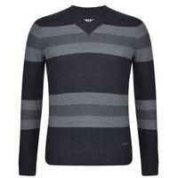 DKNY-MENS FASHION-Men's Tops-Striped V Neck Jumper-£57.00-Striped V-neck Jumper from DKNY  Stylish mens jumper from DKNY styled with a chunk v-neck collar and corresponding ribbed trim to the sleeves and hem. The jumper features a large stripe design is finished with DKNY signature branding.    > V neck  > Striped    > Long sleeved  > Ribbed cuffs and hemline  > Branding detail to hemline  > 100% Marino Wool  > Hand Wash Only    Grey/021 XS