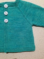 Ravelry: Newborn Top Down Cardigan pattern by Deirdre McKenna