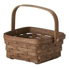 NEW Longaberger Medium Berry Basket - Pewter, Warm Brown, or Vintage stain. Originally sized for transporting fresh berries from vine to kitchen, this indispensable basket serves up cocktail napkins o