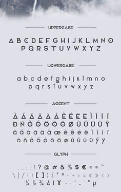 Elianto Font Letters