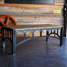 Introducing the 42 desk by Vintage Industrial in Phoenix.