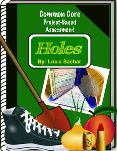 "This end of novel project is based on the Newbery Award winning book Holes by Louis Sachar. Students will create a four part ""quadrama"" that focuses on key skills that are associated with fictional literature such as:  - Tracing plot elements - Examining subplots and connections between flashbacks and the current plot - Internal and external character traits - Conflict development - Finding key topics and themes - Rating and recommending the book using supporting evidence"