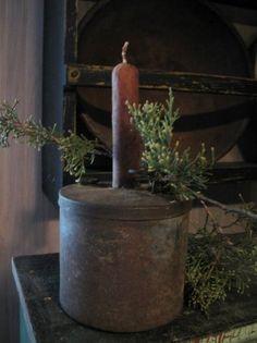 highbuttonshoe farmhouse Christmas table