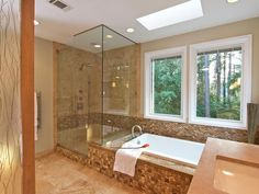 Natural Oasis - Bathroom Tiles for Every Budget and Design Style on HGTV