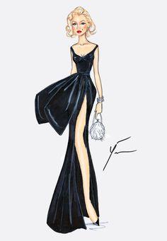 Marilyn Monroe 'Old Glamour'-by Yiğit Özçakmak