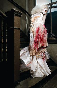 Model: Elizabeth  ~Hair/Makeup: Brandee Sloser  ~Stylist/Designer: Kaytee Papusza (PapuszaCouture)  ~Photographer: Elizabeth Raab
