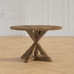 Round Dinning Table, Dinning Room Tables, Trestle Dining Tables, Extendable Dining Table, Dining Area, Small Round Kitchen Table, Outdoor Dining, Wood Table Legs, Solid Wood Table