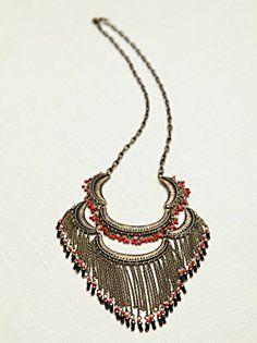 Fine Fringe Collar in shop-by-girl