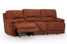 hot #44 Valeri Microfiber Reclining Sofa from Gardner-White Furniture